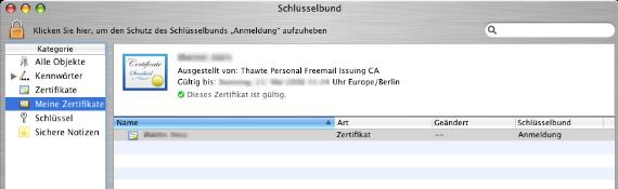 E Mail Zertifikate In Mail Verwenden Apfelwikide